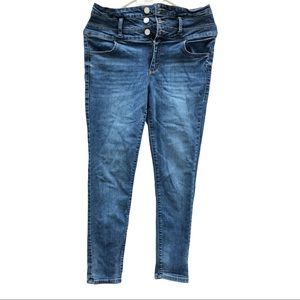 Garage Blue Jeans Ultra High Rise Jeans